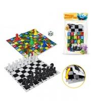 Настольная игра Шахматы 2 в 1 S+S Toys