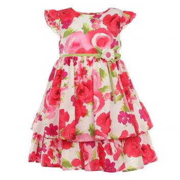 Девочки, Платье LP Collection (малиновый)643308, фото