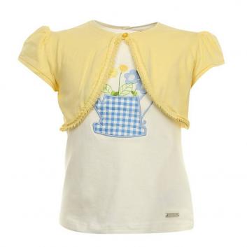 Девочки, Комплект MAYORAL (желтый)640771, фото