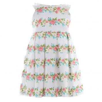 Девочки, Платье MAYORAL (белый)641556, фото