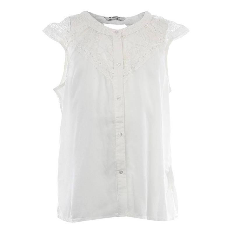 БлузкаБлузкамолочногоцвета марки Mayoral.<br>Легкая блузка с коротким рукавомзастегивается на пуговицы идекорирована нежным кружевом.<br><br>Размер: 10 лет<br>Цвет: Бежевый<br>Рост: 140<br>Пол: Для девочки<br>Артикул: 641607<br>Страна производитель: Индия<br>Сезон: Весна/Лето<br>Состав: 100% Модал<br>Бренд: Испания<br>Вид застежки: Пуговицы