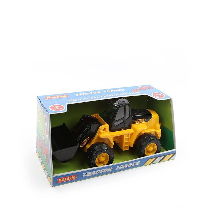 Полесье Трактор-погрузчик yandex печку на трактор мтз