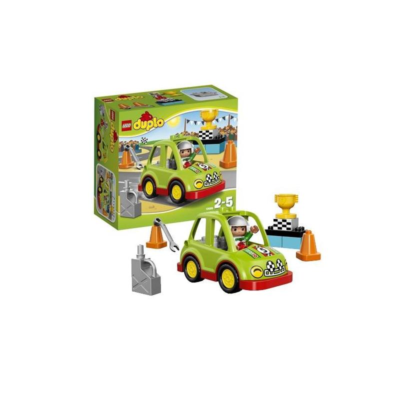 LEGO Конструктор Дупло Гоночный автомобиль