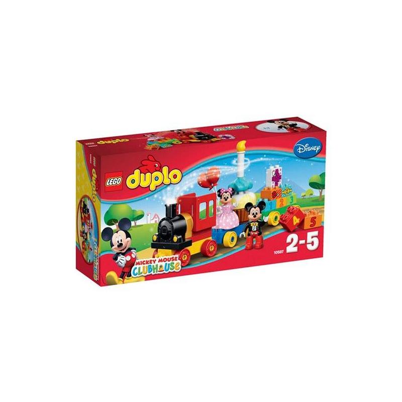 LEGO Конструктор День Рождения Микки с Минни Duplo 10597 игрушка для животных каскад удочка с микки маусом 47 см