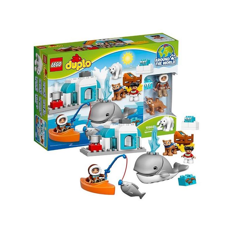Конструктор Дупло Вокруг света: АрктикаКонструктор ДуплоВокруг света: Арктика марки LEGO.<br>Вас ждет удивительное и увлекательное путешествие в загадочную Арктику: вы с удовольствием будете играть с собачьей упряжкой, плавать на байдарке и жить в настоящем иглу.Игра расскажет много нового и необычного о жизни за полярным кругом.<br>В наборе:<br>-фигурки собачки хаски и белого медведя<br>-иглу<br>- байдарка<br>- фигурки папы с ребенком<br>Кол-во деталей:40<br>Размеры упаковки: 38 х 9 х 26см<br><br>Возраст от: 2 года<br>Пол: Не указан<br>Артикул: 642725<br>Бренд: Дания<br>Размер: от 2 лет