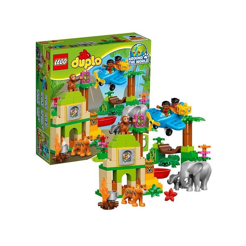 LEGO Конструктор Вокруг света: Азия Duplo 10804 lego lego duplo вокруг света в мире животных