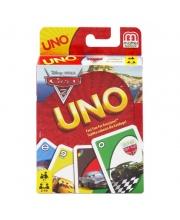 Игра карточная Уно Тачки 2 Mattel