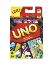 Игра карточная Уно Школа Монстров Mattel