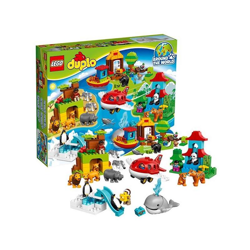 LEGO Конструктор Вокруг света: В мире животных Duplo 10805 конструктор конструктор забияка в мире электроники 1537670