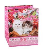 Пакет Домашние Животные Кошки 33х46х20 см Играем Вместе