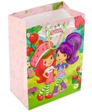 Пакет подарочный Шарлотта Земляничка 33х46х20 см Веселый Праздник
