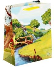 Пакет с наклейками С друзьями веселей Винни Веселый Праздник