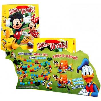 Товары для праздника, Пакет с игрой Давай Играть Микки Маус Веселый Праздник 371080, фото