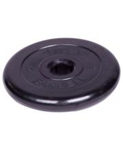 Диск обрезиненный d 26 мм 5 кг Barbell