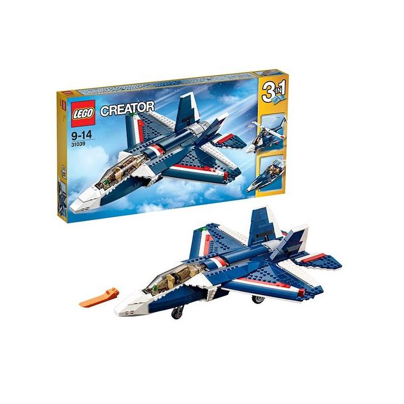 LEGO Конструктор Синий реактивный самолет Creator 31039 lego creator 31042 лего криэйтор реактивный самолет