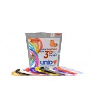 Набор пластика для 3D ручек 12 цветов по 10 м Unid
