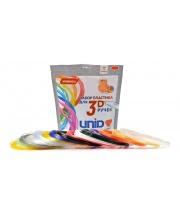 Набор пластика для 3D ручек 15 цветов по 10 м Unid