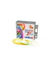 Комплект пластика ABS для 3D ручек 3 светящихся цвета в органайзере Unid