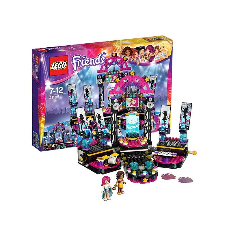 LEGO Конструктор Подружки Поп звезда. Сцена lego поп звезда дом ливи 41135