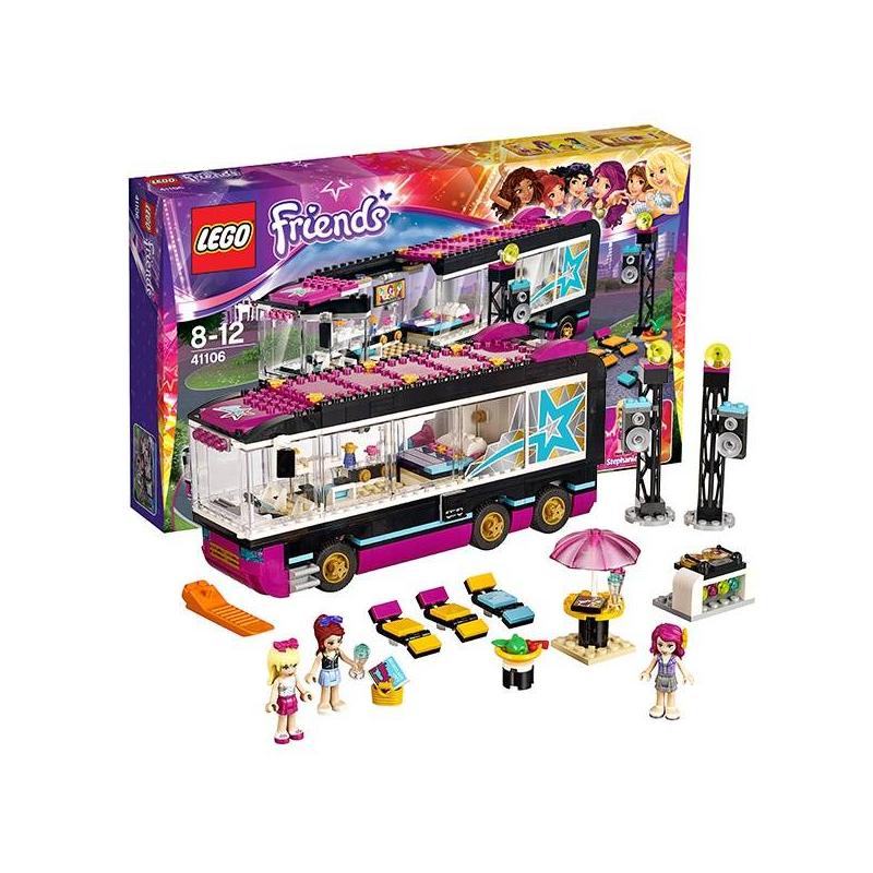 LEGO Конструктор Подружки Поп звезда. Гастроли lego поп звезда дом ливи 41135