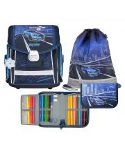 Ранец школьный EVO Racing blue