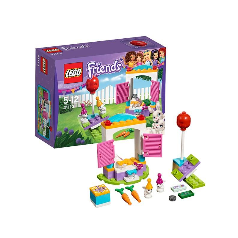 LEGO Конструктор День рождения: магазин подарков Friends 41113 lego игрушка подружки день рождения салон красоты модель 41114