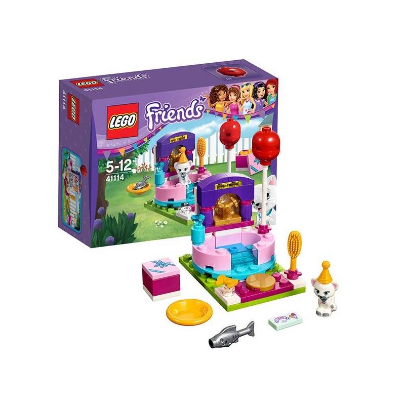 LEGO Конструктор День рождения: салон красоты Friends 41114 lego игрушка подружки день рождения салон красоты модель 41114