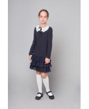 Платье с воротником-плиссе Колледж Choupette