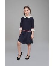 Платье с отделкой плиссе Choupette