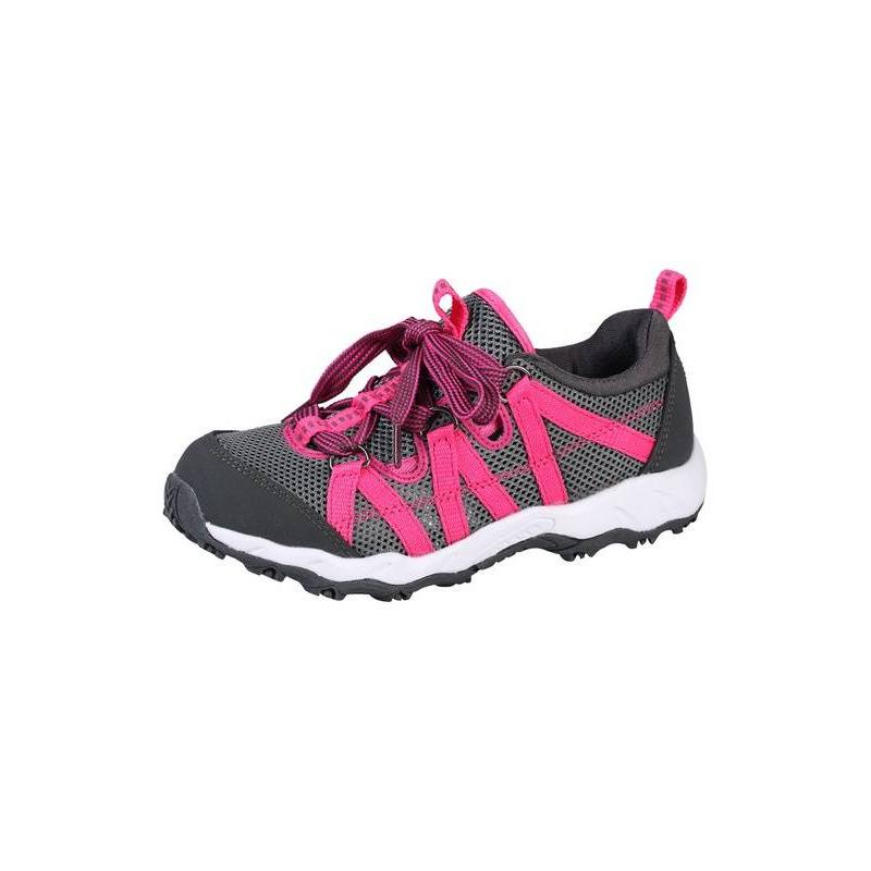 КроссовкиКроссовки розового цвета марки REIMA длядевочек.<br>Кроссовки темно-серого цвета выгодно подчеркнтуты ярко-розовыми вставками. Легкие кроссовки выполнены из дышащего материала. Прочная и гибкая резиноваяподошва обеспечивает сцепление с поверхностью и не скользит.<br>Съемные стельки со специальным рисунком помогут подобрать правильный размер. Светоотражающие детали обеспечивают безопасность ребенка.<br><br>Размер: 29<br>Цвет: Розовый<br>Пол: Для девочки<br>Артикул: 643152<br>Страна производитель: Китай<br>Сезон: Весна/Лето<br>Материал верха: Текстиль / Резина<br>Материал подкладки: Текстиль<br>Материал стельки: Текстиль<br>Материал подошвы: Резина<br>Бренд: Финляндия<br>Тип: Лето<br>Серия: Reima