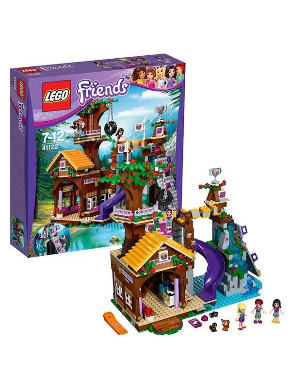 Конструктор Подружки Спортивный лагерь: дом на дереве LEGO