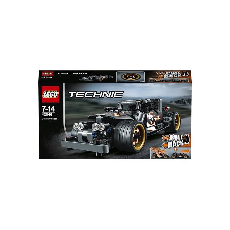 LEGO Конструктор Техник Гоночный автомобиль для побега