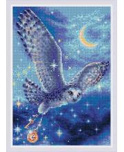 Набор алмазной мозаики Волшебная сова РИОЛИС