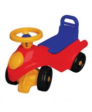 Машинка-каталка на 4-х колесах с поворотным рулем Terides