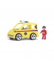 Машина скорой помощи с водителем игрушка 17 см EFKO