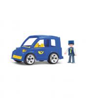 Почтовый автомобиль с водителем игрушка 17 см EFKO