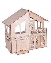 Кукольный домик серия Я дизайнер Дачный домик с гаражом конструктор PAREMO
