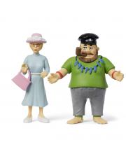 Набор кукол для домика Пеппи Длинный чулок капитан и мисс Micki
