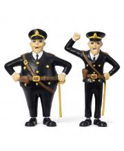 Набор кукол для домика Пеппи Длинный чулок полицейские Micki