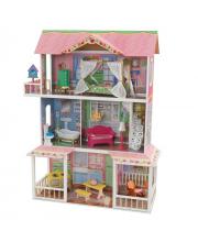 Деревянный дом для Барби Карамельная Саванна KidKraft
