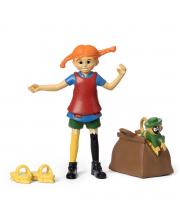 Набор кукол для домика Пеппи Длинный чулок и обезьянка Micki