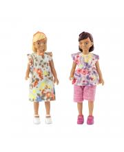 Набор кукол для домика две девочки Lundby