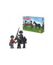 Два рыцаря и конь 3 фигурки EFKO