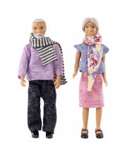 Куклы для домика бабушка с дедушкой Lundby