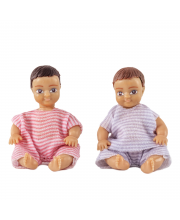Набор кукл для домика два пупса Lundby