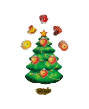 Шнуровка Новогодняя елочка PAREMO