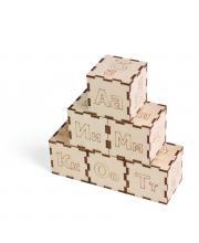 Кубики Алфавит PAREMO
