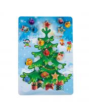 Игровой набор Липучка Новогодняя елочка PAREMO