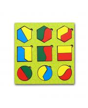Вкладыши Геометрические фигуры PAREMO