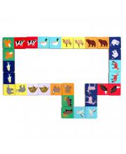 Игровой набор Домино Животный мир PAREMO